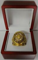 Chicago Blackhawks - 1961 Stanley Cup Hockey Ring With Wooden Box.. Mikita Hull
