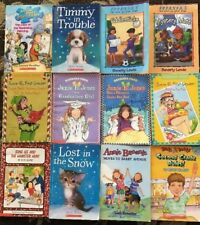 Childrens Reading Books Scholastic Beverly Lewis, B. Park Chapter Book Lot of 12