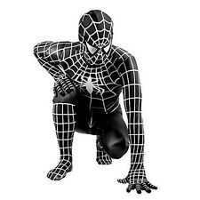 adult black Venom spiderman costume Halloween Spandex SuperHero cosplay zentai