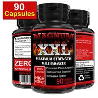 90 Capsules Magnum XXL Male Enhancer Thicker Bigger Last Longer Better Sex Drive