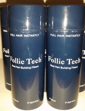 Hair Building Fibers Black 275g Follic Tech In 10 Shakers For Price Of A Refill