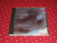 "CD BEETHOVEN ""SONATES POUR PIANO 21, 23, 14"" V. ASHKENAZY / DECCA, 1990 BON ÉTAT"