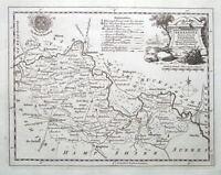 BERKSHIRE Thomas Kitchin original antique map 1776