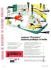 """Publicité Ancienne """" Formica Maison Pratique et Belle 1957 ( P 23 )"""