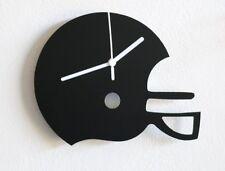 Football Helmet Silhouette Wall Clock
