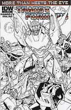 Transformers: More Than Meets The Eye #2. Milne B & W Variant. NM+. 2012