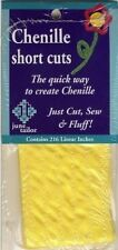 Bright Yellow Chenille Short Cuts 216 linear inches June Tailor