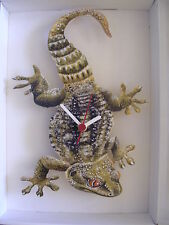 GECKO WALL CLOCK. NEW AND BOXED.