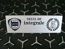 Emblem / Badge Plakette Innenraum Lancia Delta Integrale Evo Martini 5