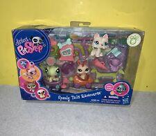 2009 LPS Hasbro Littlest Pet Shop Speedy Tail Racecourse 1596-1598 NEW