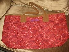 Kenzo Womens Ladies Shopper Tote Beach Bag Red Brand New.