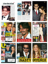 Johnny Depp HUGE collection - over 650 magazine articles clippings & photos M1