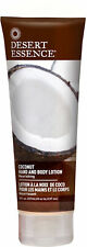 Coconut Hand and Body Lotion, Desert Essence, 8 oz 1 pack