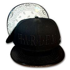 Original Cayler & Sons Black Label Snapback Cap Harlem schwarz