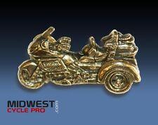 Honda Goldwing GL1800 Trike Gold-Tone Pin - (091-6214G)