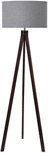 LEPOWER Wood Tripod Floor Lamp, Modern Living Room lamp, Mid Century Standing
