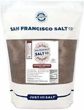 Hickory Smoked Sea Salt 2 lb. Bag - Fine Grain - BBQ Flavor