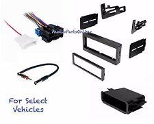 Car Radio Kit Combo for select 95-02 Chevrolet GMC Yukon Sierra Truck CK w/Amp