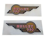 Fits Royal Enfield Bullet 350 cc Tool Box Sticker Set AUD