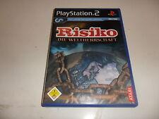 PLAYSTATION 2 PS 2 rischio-la supremazia mondiale