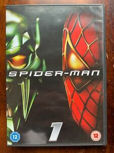 Spider Man DVD 2002 Marvel Universe Superhero Movie Classic 1-Disc