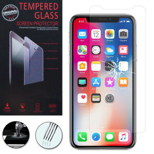 """Lot/ Pack Film Verre Trempe Protecteur pour Apple Iphone X 5.8""""/ iPhone 10"""