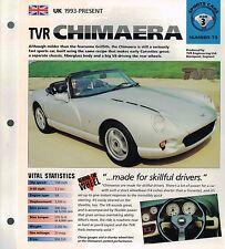 1997 / 1998 TVR CHIMAERA IMP Brochure