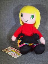 Pop'n Music Collection Character Plush Doll Mascot Figure BELLE KONAMI JAPAN