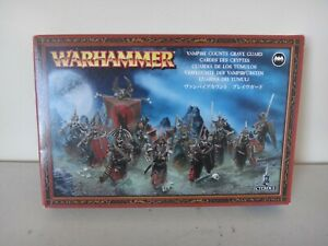OOP WARHAMMER GAMES WORKSHOP VAMPIRE COUNTS GRAVE GUARD NEW IN BOX