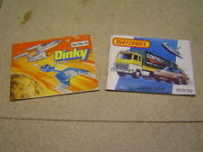 matchbox and corgi catalogues