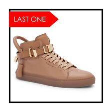 Rare! Retails $950+Tax Buscemi Peanut/Tan High Top Sneakers 11 (44)