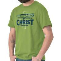 Sacrificed By Christ Christian Religious Jesus Faith God T Shirt