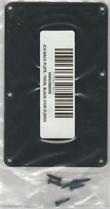 Jackson®/Charvel® Tremolo Cover Plate~Screws~Black Plastic~0060288000~Brand New