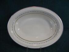 "Royal Doulton Tiara H4915 Oval 10 3/4"" Vegetable Serving Bowl"
