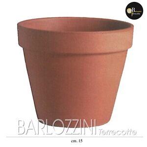 Vaso Giardino Arredamento Terracotta (5cm,7cm,15cm,19cm,27cm,31cm,37cm,53cm)