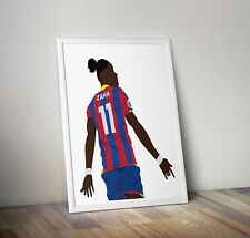 Wilfried Zaha, Crystal Palace, Print, Poster, wall art, gift, home decor