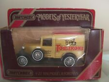 E2 Models of Yesteryear Y-22/1 1930 Ford Model A Van Toblerone Boxed Matchbox