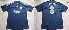 Steven Gerrard #8 LIVERPOOL FC Away shirt  jersey ADIDAS 2009-2010 adult SIZE XL