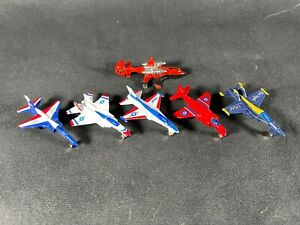 Collectors Die-Cast Mini  Airplanes Thunderbirds Red Arrows Blue Angels