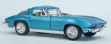 1963 Chevrolet Corvette Sting Ray Sammlermodell 1:36 türkisblau KINSMART Neuware