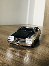 """1970 CHEVROLET CHEVY CHEVELLE SS CAR 1:32 DIECAST SILVER NEW TOY MODEL BY """"JADA"""""""