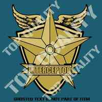 MAD MAX MFP INTERCEPTOR DECAL STICKER 70mm TALL NOVELTY DECALS STICKERS DRIFT