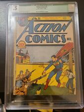 Action Comics #31 [1940] CGC .5 --- STAY OF EXECUTION incomplete!
