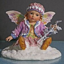 """New listing Christine Haworth Faerie Poppets """"Frosted Leaf Faerie� with box Leonardo Coll."""