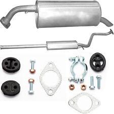 Auspuff ab KAT Hyundai Getz 1.1 1.3 Bj.05/02-10/06 +  Montagezubehör
