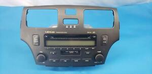 02-03-04-05-06 LEXUS ES300 ES330 STEREO RECEIVER 6 DISC CD PLAYER RADIO, OEM