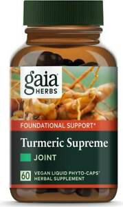 Turmeric Supreme - Joint by Gaia Herbs, 60 capsule 1 pack