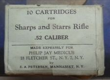 New listing Empty - Vintage Sharps and Starrs .52 cal Ammo Box