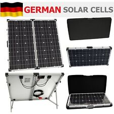 150W 12V folding solar panel charging kit for caravan motorhome campervan boat
