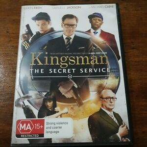 Kingsman the Secret Service DVD R4 Like New! FREE POST